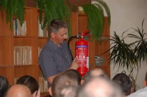 Udział wszkoleniu zzakresu postępowania wsytuacjach pożaru orazewakuacji (1)